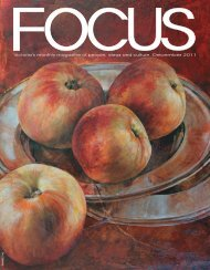 Victoria's monthly magazine of people, ideas and ... - Focus Magazine