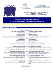 Deskargatu Egitaraua pdf formatuan. - Eurobask