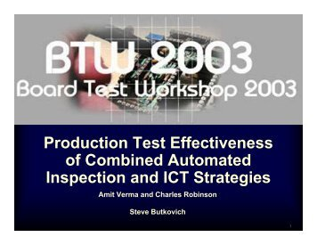 2-2 Butkovich-Cisco - Board Test Workshop Home Page