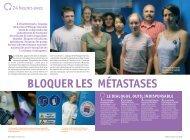 BLOQUER LES MÉTASTASES - Pataclope83.com
