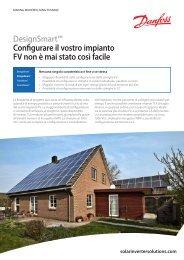 solarinvertersolutions.com DesignSmart™ Configurare il ... - Danfoss
