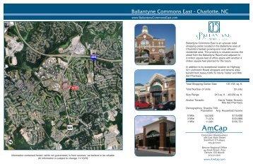 Ballantyne Commons East - Charlotte, NC