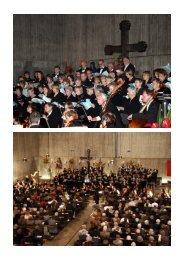 Bilder vom Brahms-Requiem - St. Laurentius Gaggenau
