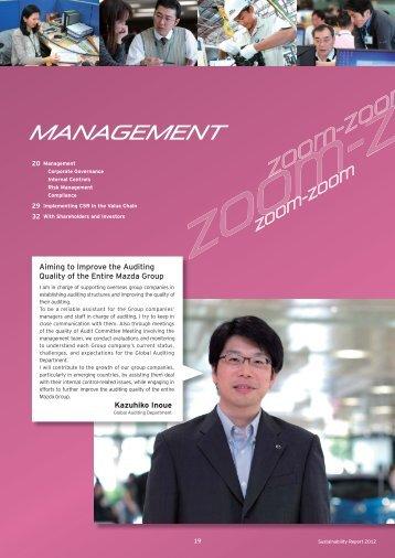 Management - Mazda