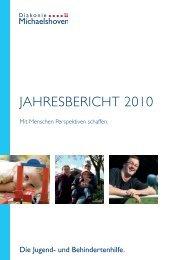 Jahresbericht 2010 - Diakonie Michaelshoven