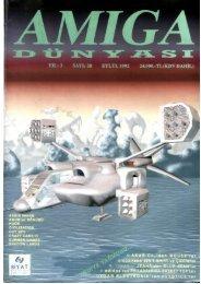 Amiga Dunyasi - Sayi 28 (Eylul 1992).pdf - Retro Dergi