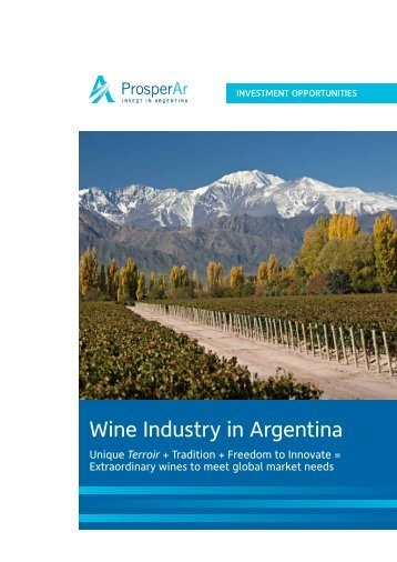 Wine Industry in Argentina - Unido