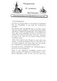 Pfarrblatt Nr. 09 vom 16.06.12 - 01.07.2012 - St. Laurentius Gaggenau