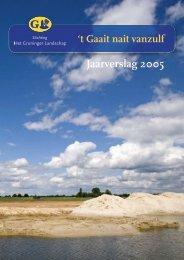 Jaarverslag 2005 - Stichting Het Groninger Landschap