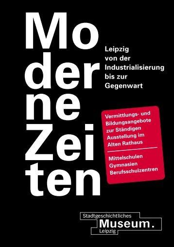 Modul 1 - Stadtgeschichtliches Museum Leipzig