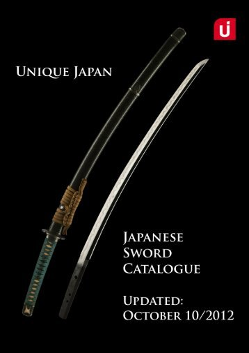 Download the Latest Catalogue of Available ... - Unique Japan