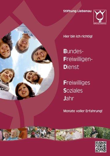 BFD und FSJ in der Stiftung Liebenau