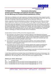 TI-PID001KK04 Technische Information Ionisierungs-Potentiale und ...