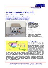 PDF - Datenblatt - ANSYCO Analytische Systeme und ...