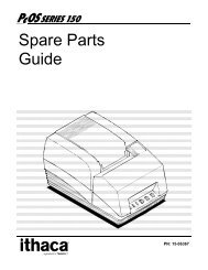 Ithaca 150 Spare Parts Guide - TransAct