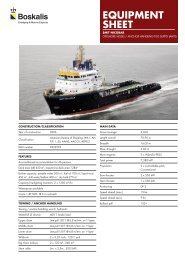 Anchor handling tug supply (AHTS) - Boskalis Area Middle East