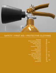SAFETY / FIRST AID / PROTECTIVE CLOTHING