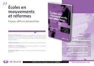 Écoles en mouvements et réformes - ResearchGate