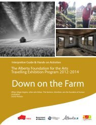 Down on the Farm - Art Gallery of Alberta