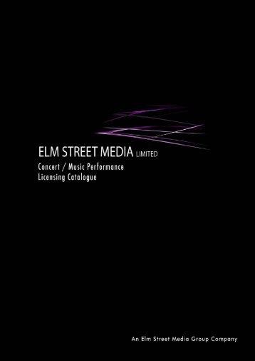 Concert Music Performance Licensing Catalogue 2010 - elm street ...