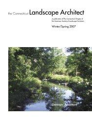 the Connecticut Landscape Architect - CTASLA