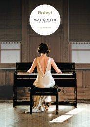 The piano - Roland Scandinavia a/s