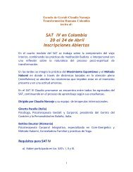 SAT IV 2011 - Claudio Naranjo