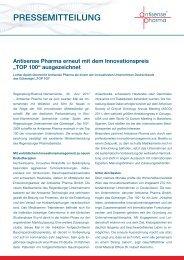 zum Innovationspreis - Antisense Pharma