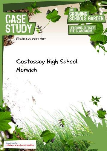 Costessey High School, Norwich - The Growing Schools Garden