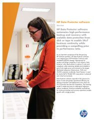 HP Data Protector Software (US English) - En Pointe Technologies