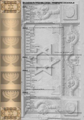 Sinagogi în Transilvania itinerare de 2-3 zile - Jewish Romania