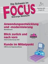 Anwendungsentwicklung und - Midrange Magazin