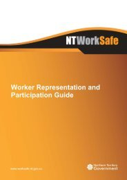 Worker Representation and Participation Guide (HSR) - NT WorkSafe