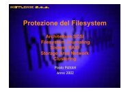 Manuale Protezione Filesystem - Paolo PAVAN