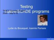 Automating the test process in avionics software development (pdf)