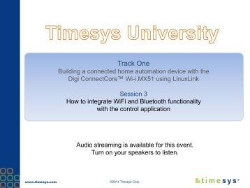 Download the Session 3 companion slides. - TimeSys