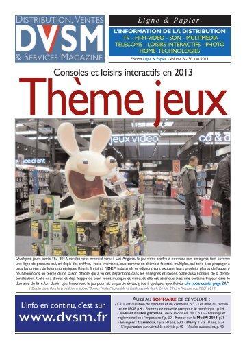 DVSM Ligne & Papier – Volume 6 - Juin 2013