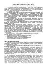 Decreto Balduzzi: poche luci e tante ombre