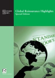 Global Reinsurance Highlights Special Edition - Reactions
