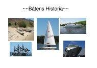 Båtens historia av klasss 9C - Teknik från Lillåns skola