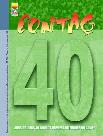 Revista 40 anos da Contag