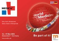 Be part of it! - Medica