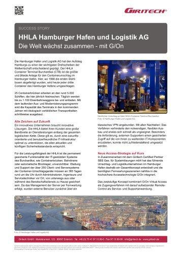 HHLA Hamburger Hafen und Logistik AG - Giritech.de