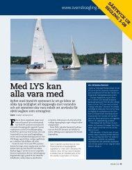 Med LYS kan alla vara med - Svenska Seglarförbundet