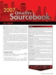 Six Sigma - Quality Digest