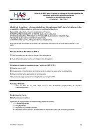 (IgIV) dans le traitement des myopathies inflammatoires sévères ou ...