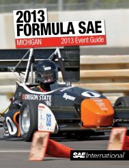 michigan 2013 Event guide - Students - SAE International