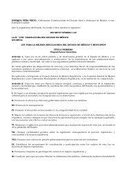 Ley 201 - Gobierno del Estado de México