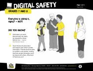 Digital Safety Grades 7-8 - The Door That's Not Locked