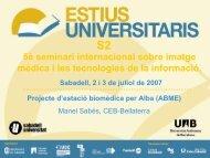 Diapositiva 1 - Sabadell Universitat